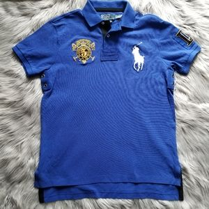 Polo Ralph Lauren Snow Challenge Cup 3 Rugby Shirt